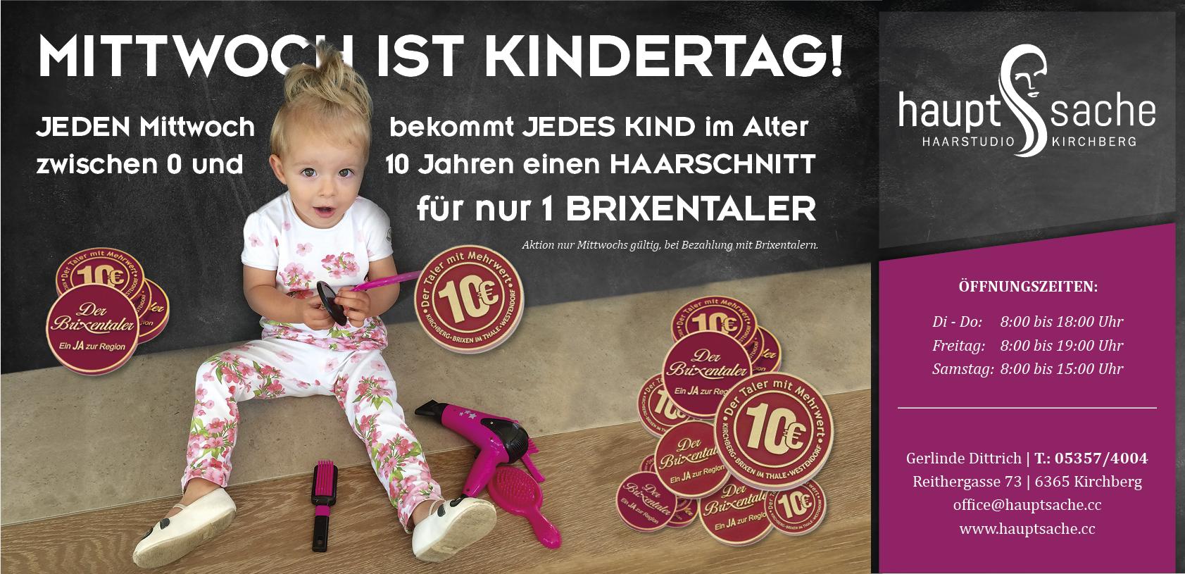 Haarstudio_Hauptsache_Kindertag_Mittwoch_Brixentaler